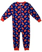 Kids Girls Fleece Character Onesie Pyjamas Pj's Size UK 1-8 Years