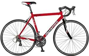Fahrrad Bikespace Race BS-RD-1 Alu 28 Race-Rahmen, 24-Gang,rot/schw.,Rh 56