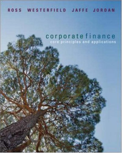 Corporate Finance: Core Principles and Applications + S&P card (McGraw-Hill/Irwin Series in Finance, Insurance, and Real Est)