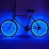 Pecosso Fahrrad Rad Licht-Wasserdichte LED Fahrrad 2 Modi Rad Lichter-Lange Lasted Sichtbare Sicherheit Geeignet für Das Radfahren in der Nacht(Keine Batterie im Lieferumfang Enthalten)