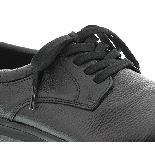 Joya Mens Mustang Leather Shoes Noir - Noir