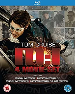 Mission Impossible Quadrilogy [Blu-ray] [1996] [Region Free] (B0074GV17E) | Amazon Products