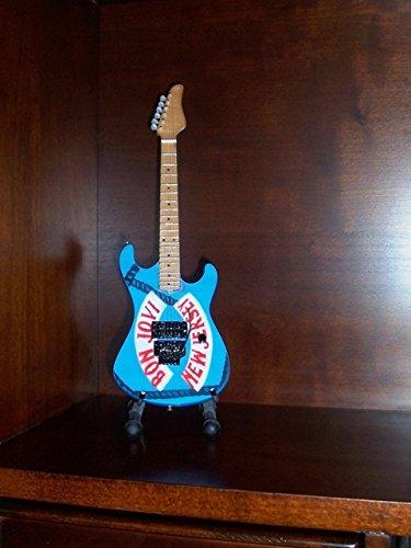 Mini Gitarre BON JOVI NEW JERSEY Anzeige GESCHENK (Felsen New Jersey)