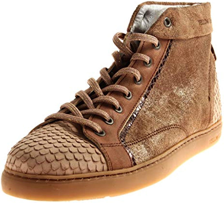 giallo Cab 1281 Donna High Top Top Top scarpe da ginnastica Scarpe di Cuoio Schnüravvioie Scarpe alla Caviglia | I Clienti Prima  183531