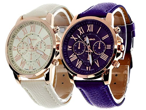 Geneva Platinum Combo Analog Multi-Colour Dial Women\'s Watch - GP-286