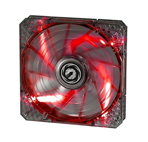 BitFenix Spectre PRO 140mm Red LED - Black lowest price