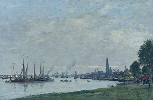 Das Museum Outlet - Anvers, der Hafen, View to the North Zitadelle, 1971 - A3 Poster
