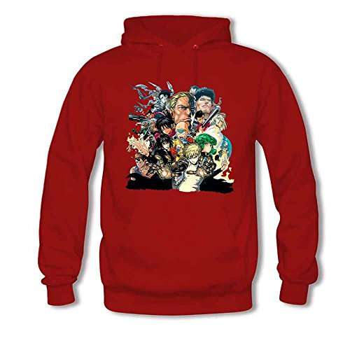 Womens Pullover Hoody Manga One Punch Man Cotton Sweatshirt XXL