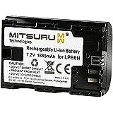 Mitsuru® batterie de remplacement pour Canon 9486B002 LP-E6N LPE6N compatible avec Canon EOS 5D Mark II 5D Mark III 5D Mark IV 5DS 5DS R 60D 60Da 6D 70D 7D 7D Mark II 80D 80D Mark II