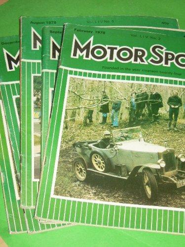 Motor Sport - 5 Zeitschriften 1978 [Gebundene Ausgabe] by unbekannt