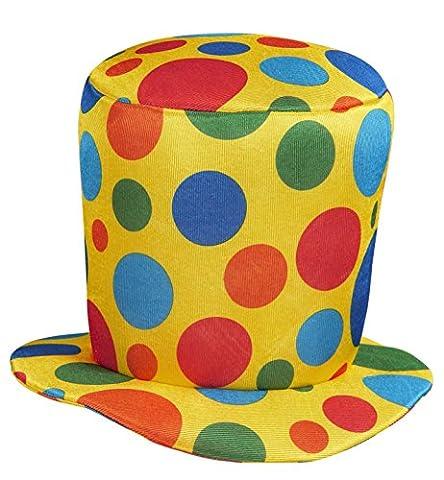 Clown Top Clown Hats Caps & Headwear for Fancy Dress