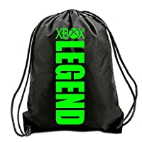 TEEZ - XBOX LEGEND VERTICAL GYM BAG, SWIMMING BAG, BAG,GYMSAC,DRAWSTRING BAG, WATER RESISTANT