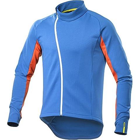 Mavic Crossmax Ultimate Invierno Térmicos bicicleta camiseta azul/naranja 2017, otoño/invierno, color azul, tamaño XXL (58/60)