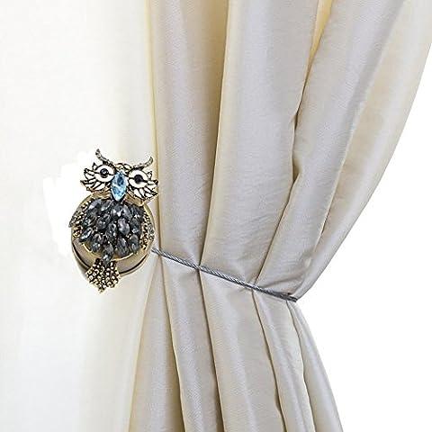 Vorhang Raffhalter Magnet Raffhalter Clip Vorhang Binden (2 Stücke)