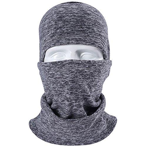 Winter Baclava Masken Ski Balaklava Sturmhaube Skifahren Fahrrad Motorrad Damen Manner (Grau) (Ski Sturmhaube Maske)