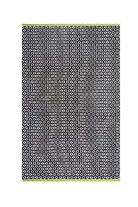 Fab HAB–Vernon–nero indoor outdoor Recylced Pet (poliestere filato) tappeto (150cm x 240cm)