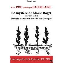 Le Mystère de Marie Roget, illustré