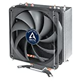 ARCTIC Freezer i32 CO - CPU Cooler PWM Fan for Intel with New Fan Controller and PWM Sharing Technology(PST), Cooling Fan, Easy Installation, Dual Ball Bearing for Continuous Operation – 120 mm