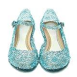 iFresh® Prinzessin Frozen Elsa Absatz-Schuhe Sandalen in verschiedene Gröeß