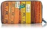 GABS Gmon17 - Portafogli Donna, Mehrfarbig (Metri), 2x11x19 cm (B x H T)