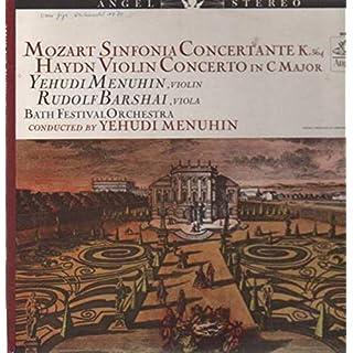 Mozart-Sinfonia Concertante K.364 & Haydn - Violin Concerto in C Major [Vinyl LP]