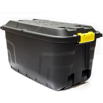 xl transportbox kissenbox mit 75 liter fassungsverm gen und vier rollen abnehmbarer und. Black Bedroom Furniture Sets. Home Design Ideas
