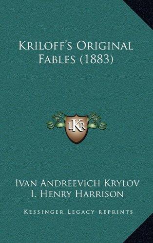 Kriloff's Original Fables (1883)