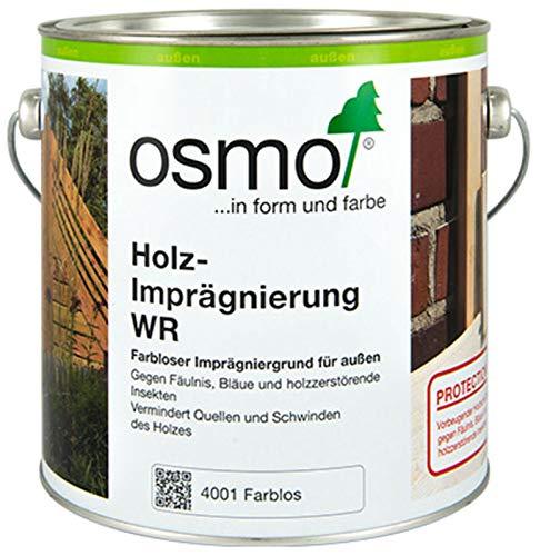 OSMO Holz-Imprägnierung WR Holzschutz-Grundierung für Außen, 4001 Farblos, Sondergröße, 1 Liter