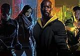 Generic The Defenders TV Show Foto Poster Daredevil Jessica Jones Iron Fist 002 (A5-A4-A3) - A3