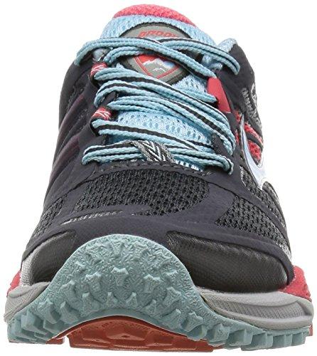 de femme 005 Cascadia Anthracite Brooks 1B Hibiscus 11 120204 Crystalblu 005 Chaussures Gris Trail 8FTZwq