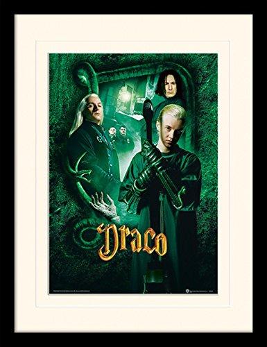 1art1® Harry Potter - Draco Malfoy Póster De Colección Enmarcado (40 x 30cm)