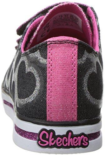 Calzature sportive per ragazza, colore Nero , marca SKECHERS, modello Calzature Sportive Per Ragazza SKECHERS 10709L Nero Nero