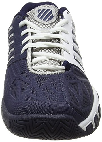 K-Swiss Performance Bigshot Light 3, Chaussures de Tennis Homme Blanc (White/navy)