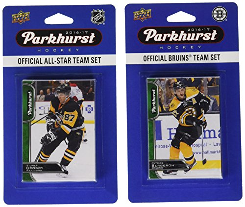 NHL Boston Bruins 2016Parkhurst Team Set und EIN All-Star, Set, weiß