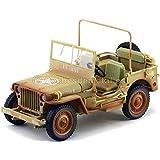 1943 Jeep Willys Casablanca Arena del Desierto Sucio 1:18 Triple-9 1800140A