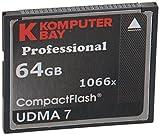 Komputerbay 64GB Professionelle Compact Flash-Karte zu schreiben 1066X CF 155 MB