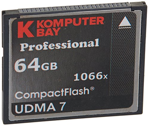 Komputerbay 64GB Professionelle Compact Flash-Karte zu schreiben 1066X CF 155 MB / s lesen 160MB / s Extreme Speed   UDMA 7 RAW