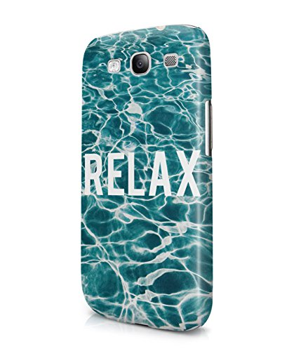 Relax By The Pool Summer Vibes Fresh Ocean Water Plastic Snap-On Case Cover Shell For Samsung Galaxy S3