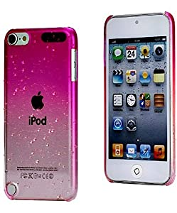 iPod Touch 5th Generation Pink Clear Water Drops Girly ...