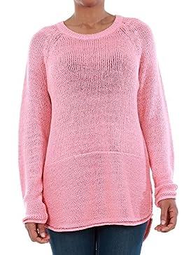 Jersey Vero Moda Mujer Rosa 10192178 VMKAKI LS O-NECK BLOUSE STRAWBERRY ICE