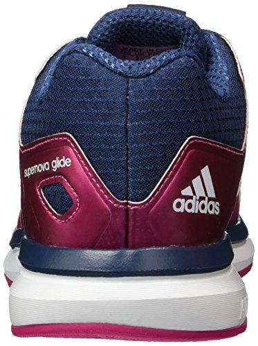 adidas Performance Supernova Glide 8, Scarpe da Corsa Unisex – Bambini, Multicolore, 38,5 EU Pink (Eqt Pink S16/Ftwr White/Mineral Blue S16)