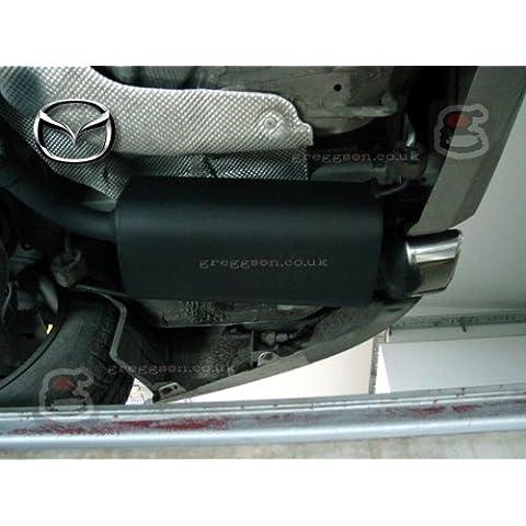 Mazda 6Sedán Hatchback facelifting 2007–2012deporte rendimiento Silenciador de escape