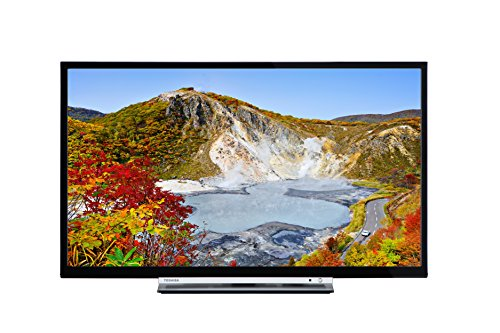 Toshiba 24W3753DB 24-Inch HD Ready WLAN Smart TV with Freeview Play - Black (2017 Model)