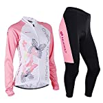 nuckily-Women-Bicycle-Suit-SpringAutumn-Cycling-Jersey-And-Bike-Tights-Sport-Wear-Set