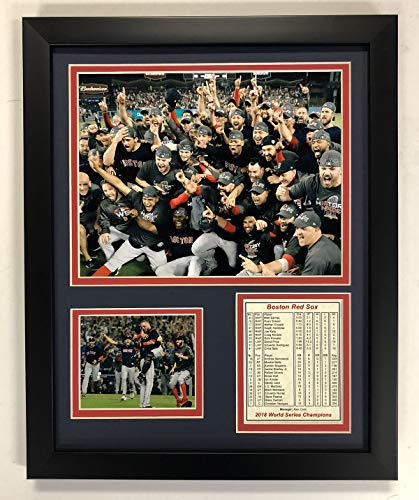 B Boston Red Sox 2018 World Series Champions Fotocollage, gerahmt, 30,5 x 38,1 cm ()