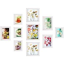 MVPOWER Set de Marcos de Fotos 4pcs x 10*15cm + 3pcs x 13*