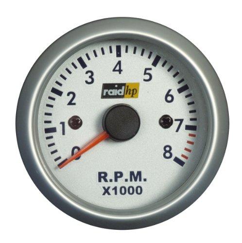Raid HP 660266 Drehzahlmesser, Zusatzinstrument Silver Line
