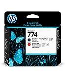 Hewlett Packard P2V97A passend für dnj Z6810 Druckkopf matt schwarz und Chrom rot HP774