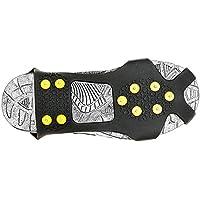 WJW - Cubierta Antideslizante para Zapatos de Nieve, Escalada de Hielo, Pinchos de Crampón, 10 Botones