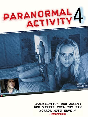 Paranormal Activity 4 Cover
